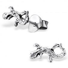 E00015-SS   Sterling Silver Lizzard Ear rings