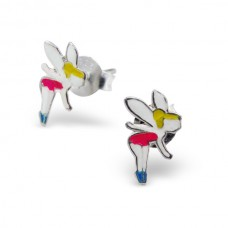 E00017-MX Sterling Silver Fairy Ear rings with epoxy