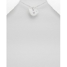 P17802-SS   Sterling Silver Bird Pendant Necklace